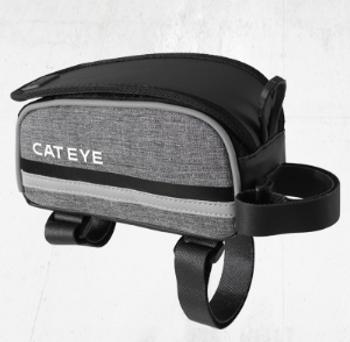 CATEYE TOPTUBE BAG~BLACK/GREY