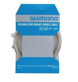 SHIMANO DOUBLE END BRAKE CABLE-2050MM-Y80098411
