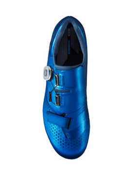 SHIMANO SH-RC500 ROAD SHOES-BLUE