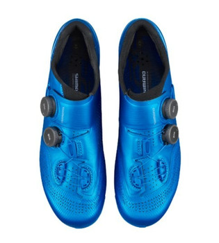 SHIMANO SH-RC902 ROAD SHOES-WIDE--BLUE