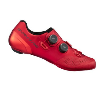 SHIMANO SH-RC902 ROAD SHOES-WIDE-RED