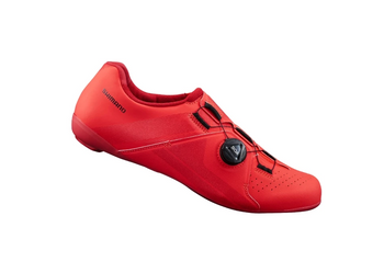 SHIMANO SH-RC300 ROAD SHOES-RED