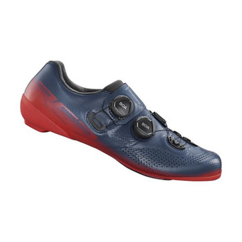 SHIMANO SH-RC702 ROAD SHOES-WIDE-RED