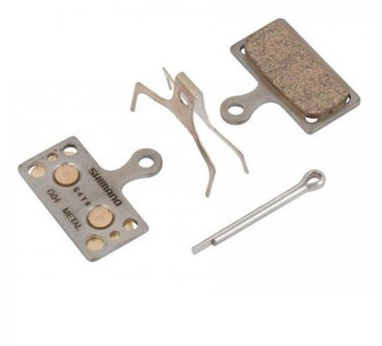 SHIMANO XT METAL PAD(G04S) WITH SPRING~Y8MY98010