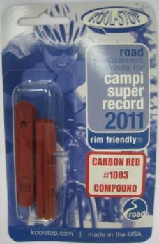 KOOL STOP SUPER RECORD 1003 CARBON CROSS PADS