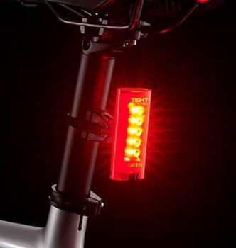 CATEYE TIGHT KINETIC REAR LIGHT(BATTERY)~TL-LD180K