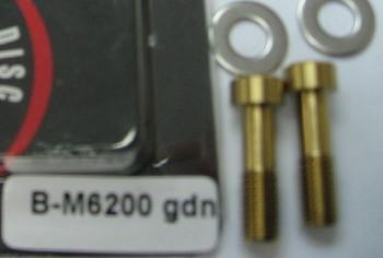 A2Z B-M6200 TITANIUM BOLTS(2PCS/BAG)