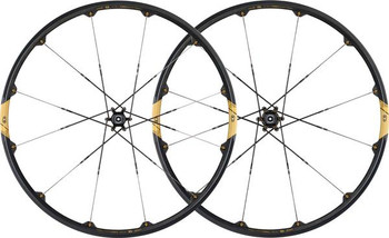 "*CRANK BROTHERS C11-26""CARBON WHEELSET-BK/GD-135MM"