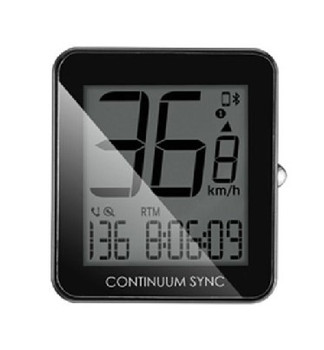 GIANT CONTINUUM SYNC CYCLE COMPUTER W/SENSOR~K