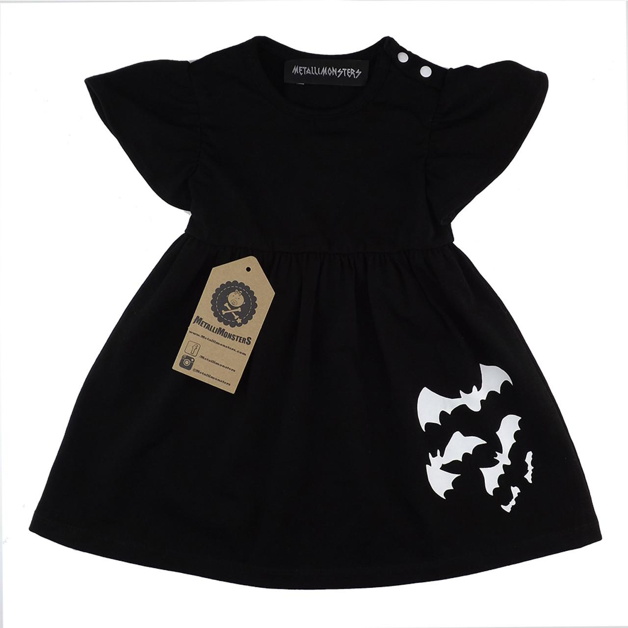7eb5e62206e9d Bats dress black - Metallimonsters Ltd