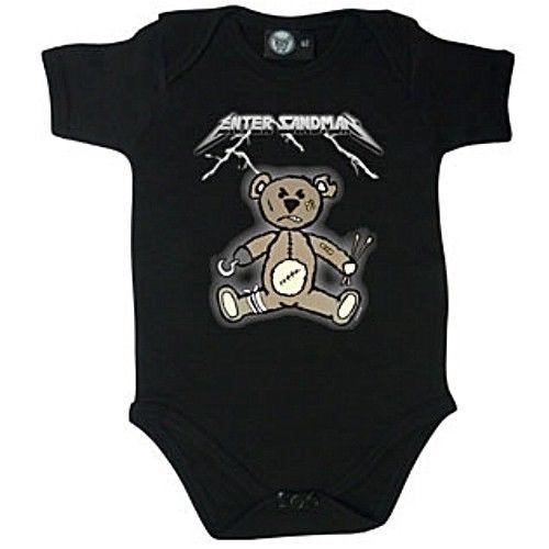 Metallica baby vest