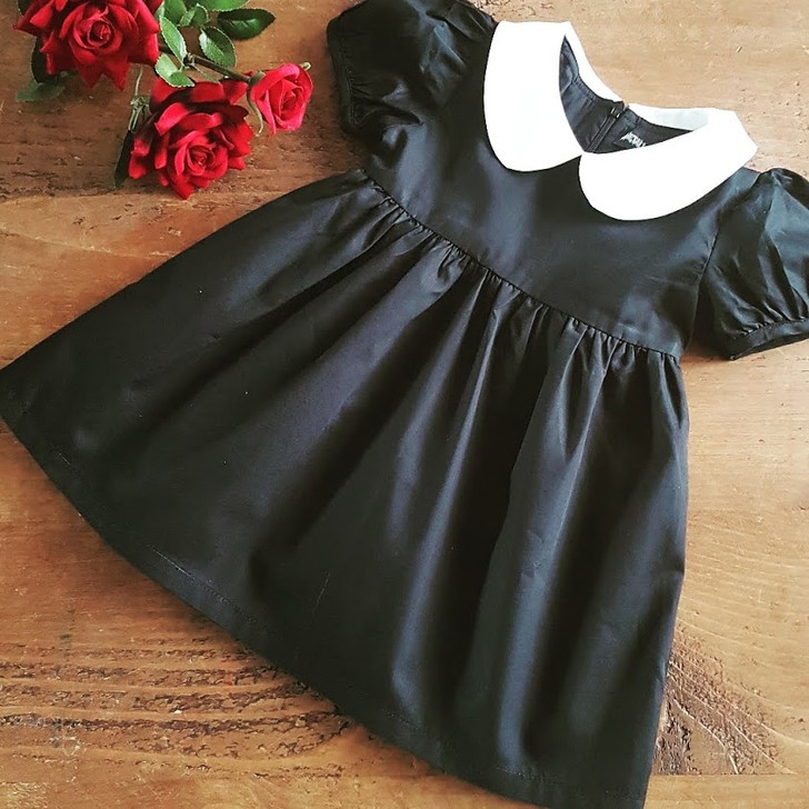 Wednesday Addams baby dress