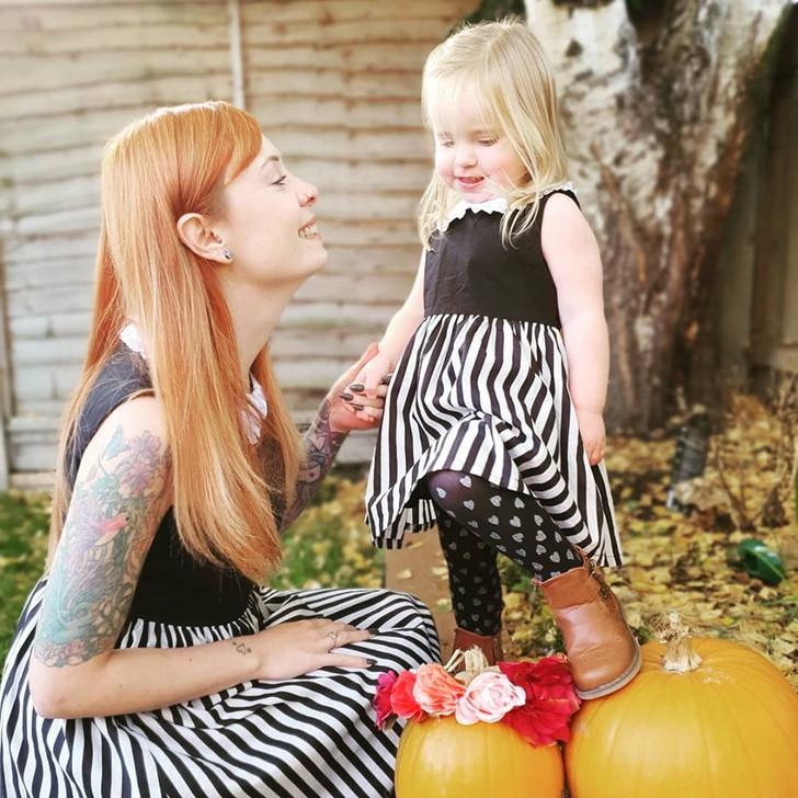 Luna Stripe dress - Ladies