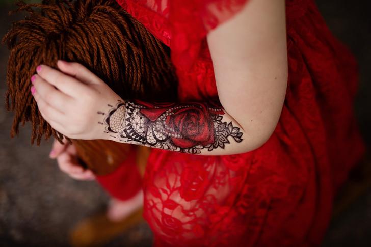 BFF Half Sleeve Tattoo