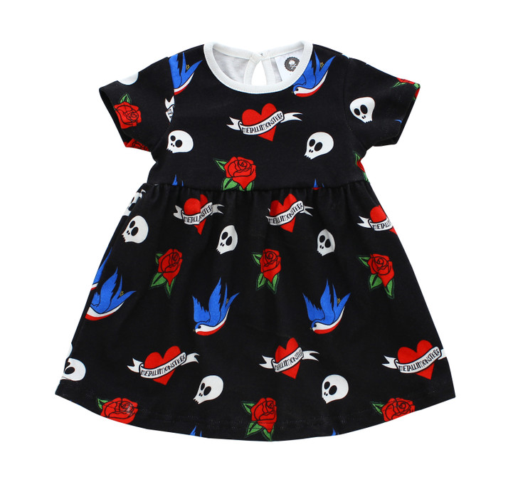 Tattoo flash dress