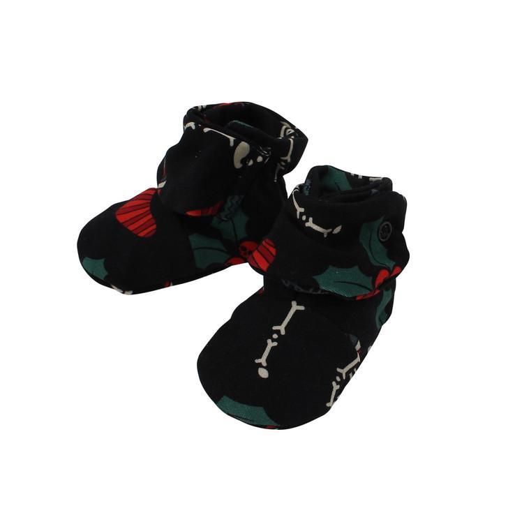 Adjustable baby christmas booties