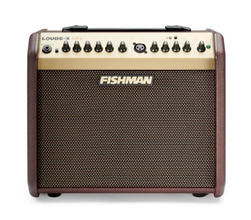 "Fishman PRO-LBT-500 Loudbox Mini with Bluetooth 2-Channel 60-Watt 1x6.5"" Acoustic Guitar Amp"