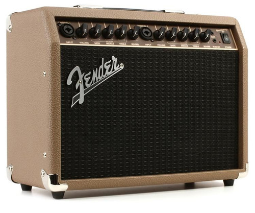 Fender ACOUSTASONIC™ 40 2020 Brown and Wheat