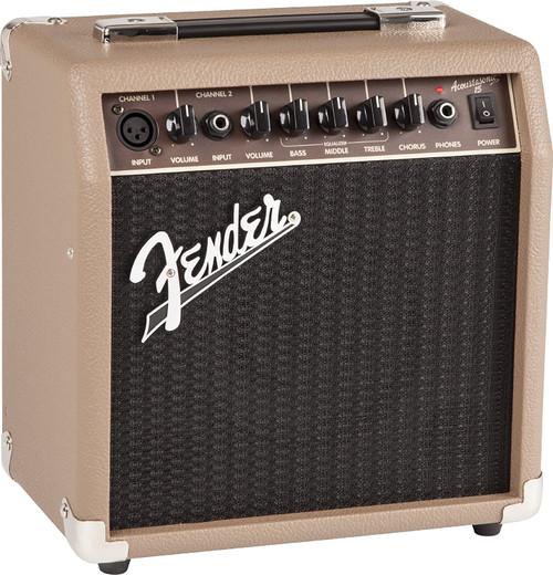 Fender ACOUSTASONIC™ 15 2020 Brown/Wheat