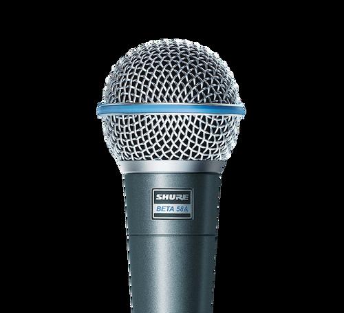 Shure BETA 58A- Dynamic Vocal Microphone