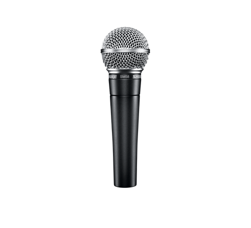 Shure SM58- Dynamic Vocal Microphone