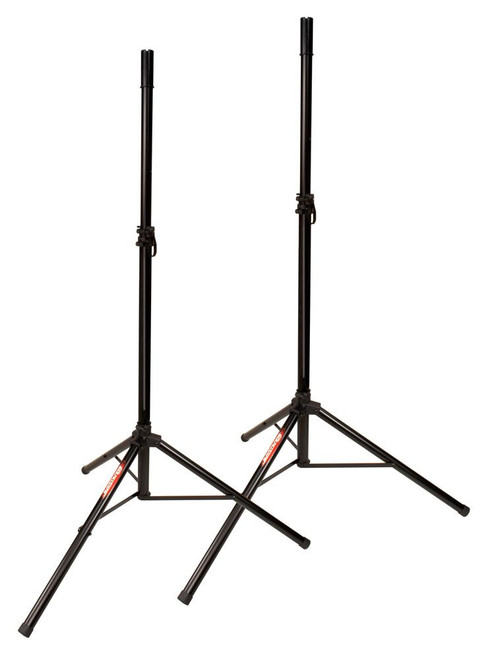 Jamstands JS-TS50-2 Pair of Tripod Speaker Stands with FREE Carrying Bag