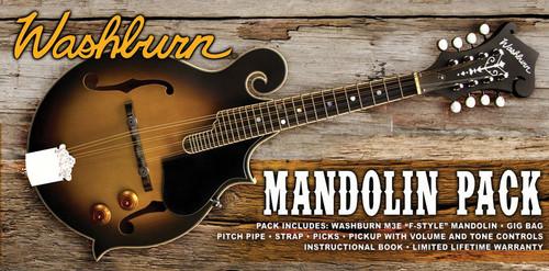 Washburn Washburn Americana M3E-PACK Mandolin Pack
