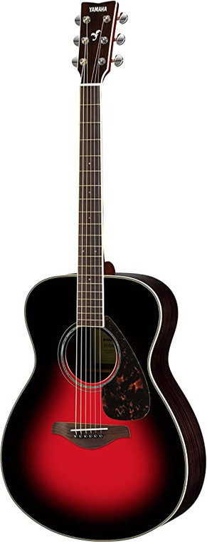 Yamaha FS830 Small Body Acoustic Guitar Dusk Sun Red