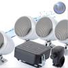 Motorcycle/ATV Waterproof Audio System-3 Inch-40W Speakers-Crome