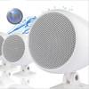 Mini Marine Waterproof Loudspeaker - 3 Inch - External Mount - White