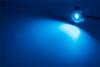2 x 60 Watt Underwater LED Boat lights S/Steel Flush mount Bright BLUE Colour