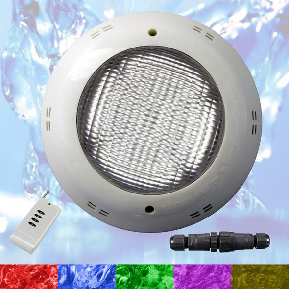 Swimming Pool LED Light RGB - Bright Multi Color - Above Ground / Fiberglass