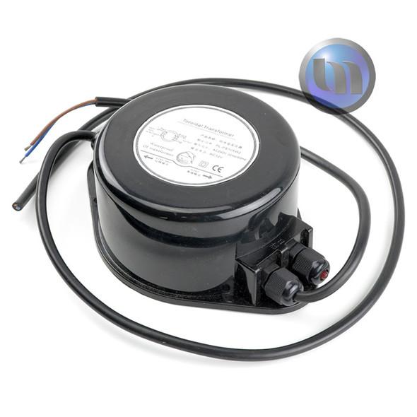 12V AC 40W Toroidal Transformer Waterproof - Suitable for Pool Lights