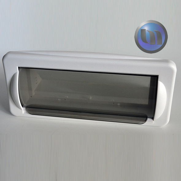AXIS IN-DASH RADIO HOUSING - Slide Down Polycarbonate door