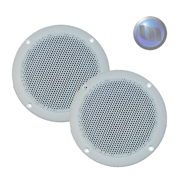 Axis Marine/Outdoor 60W 2-Way 5 Inch Speakers - Ultra Slim Design