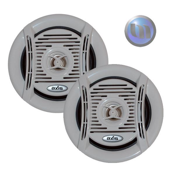 Axis Marine/Outdoor 130W 2-Way 5 Inch Speakers