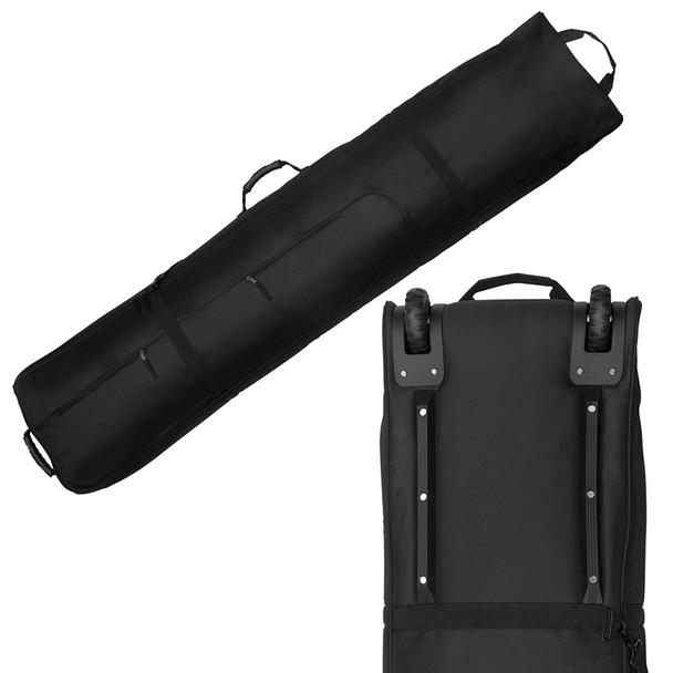 Ski Wheelie Travel Bag  170cm - Black - Thick Padded  High Quality Bag