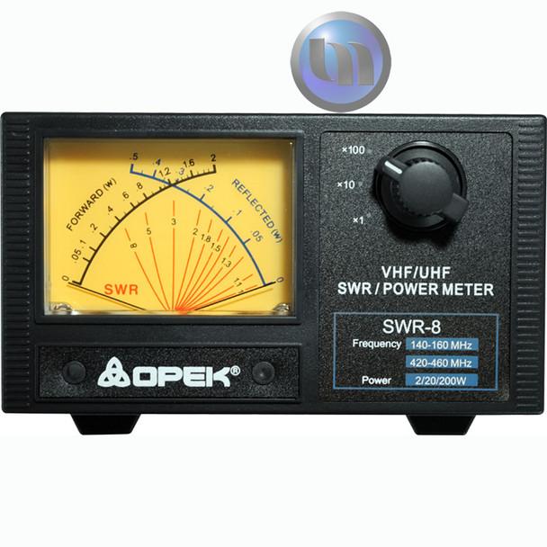 OPEK - UHF/VHF SWR - POWER METER - VHF 140-160Mhz - UHF 400-460Mhz