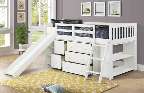 The Standard Premier Loft Bed - White