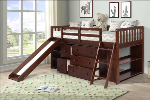 The Standard Premier Loft Bed - Cappuccino