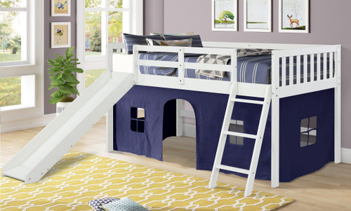 The Standard Tent Loft - White / Blue Tent