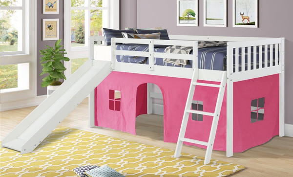 The Standard Tent Loft - White / Pink Tent