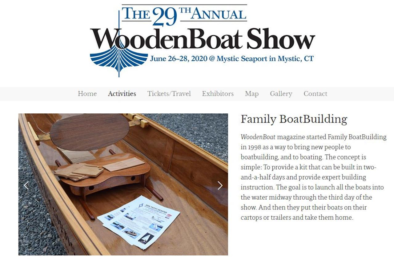 2020 Mystic Family Boatbuilding Deposit
