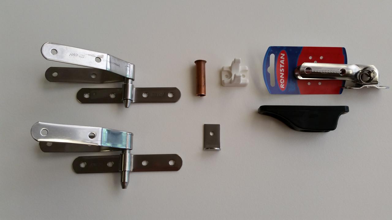 Small Rudder Hardware Kit
