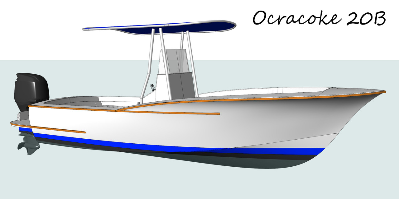 Ocracoke 20-B Plans