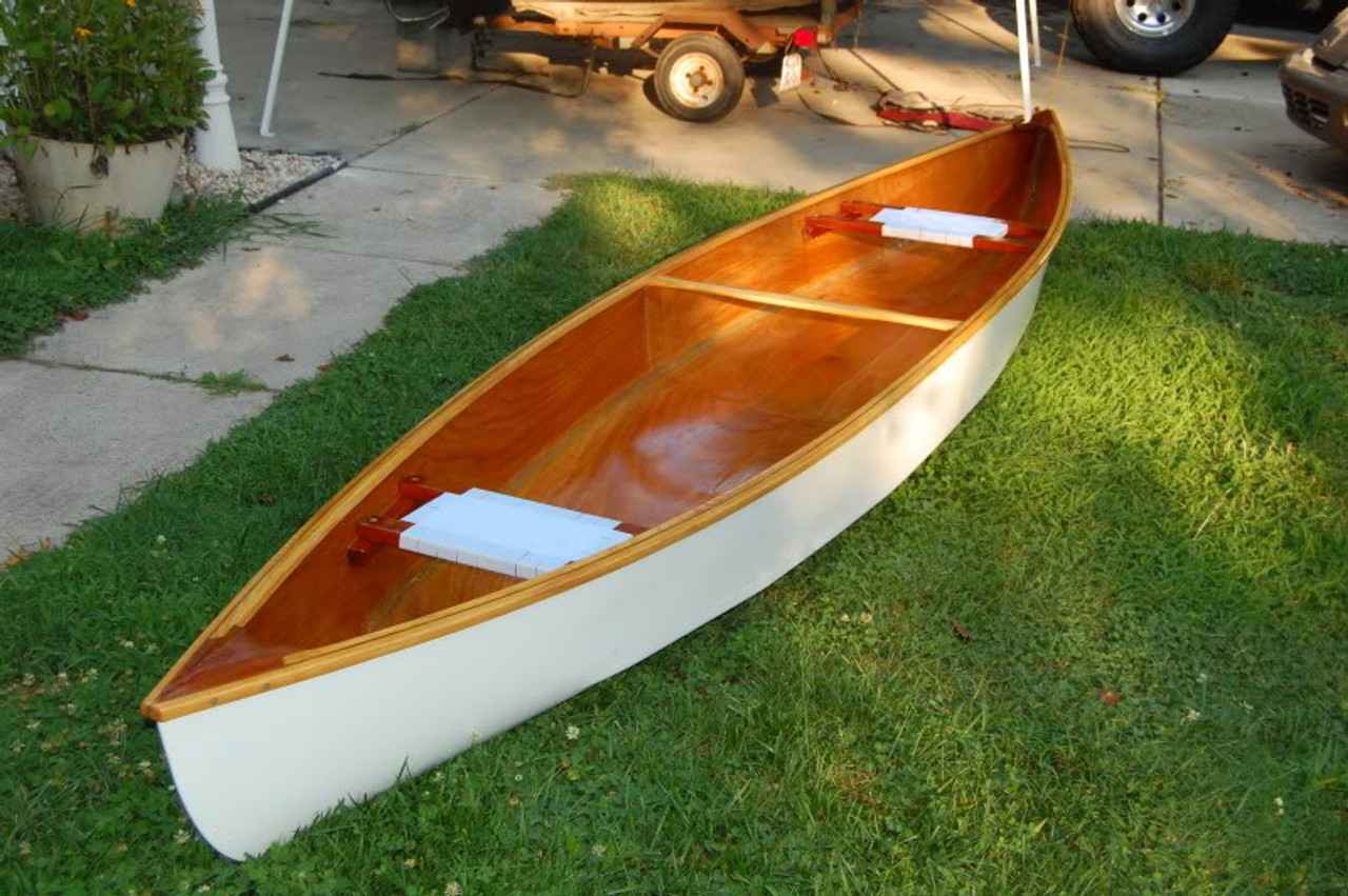 "Moccasin 15'6"" Canoe Plans"