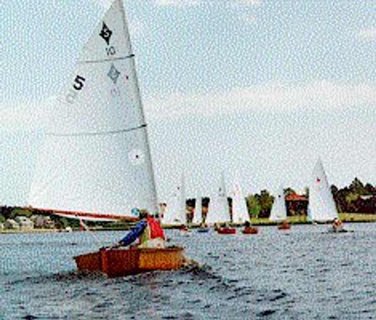 Spindrift 11 Reefing Sail