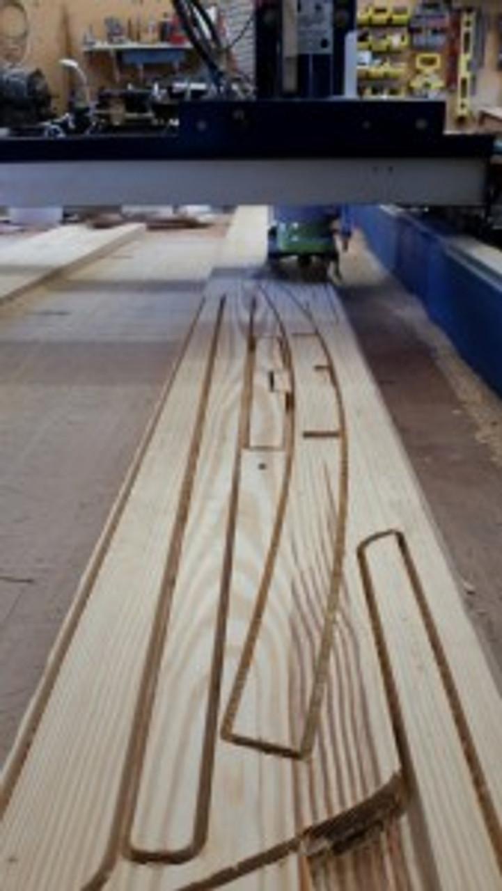 CS-17 CNC Solid Wood Kit