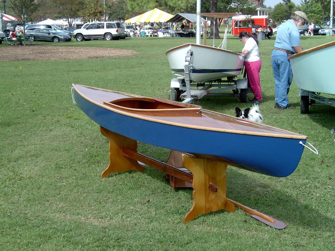 Birder Decked Canoe Plans