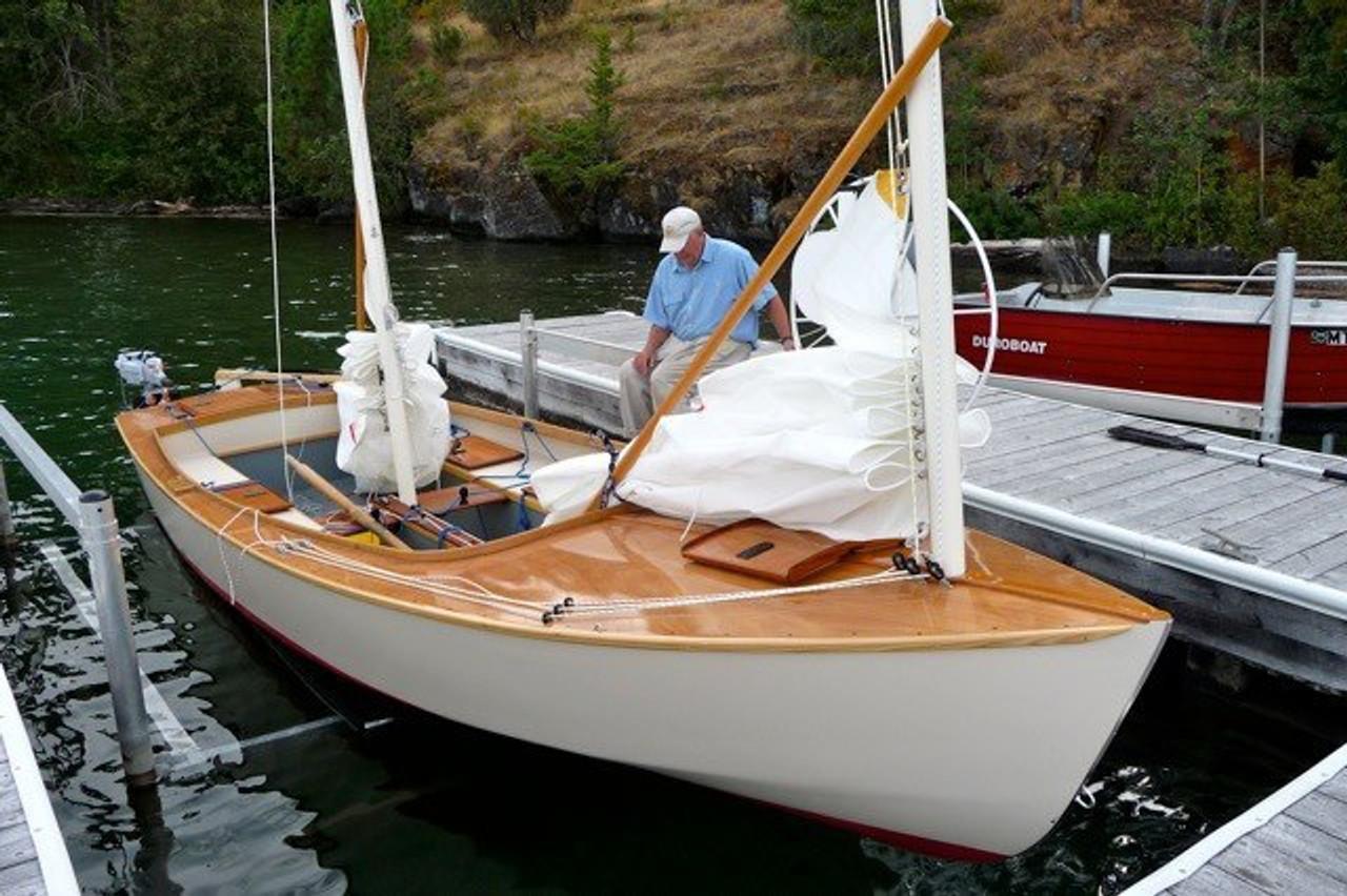 Cajune boats built CS-20 for a customer on Flathead lake